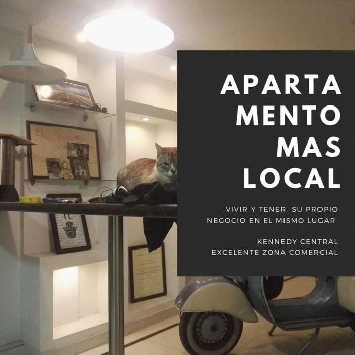 OFERTA DE APT MAS LOCAL COMERCIAL