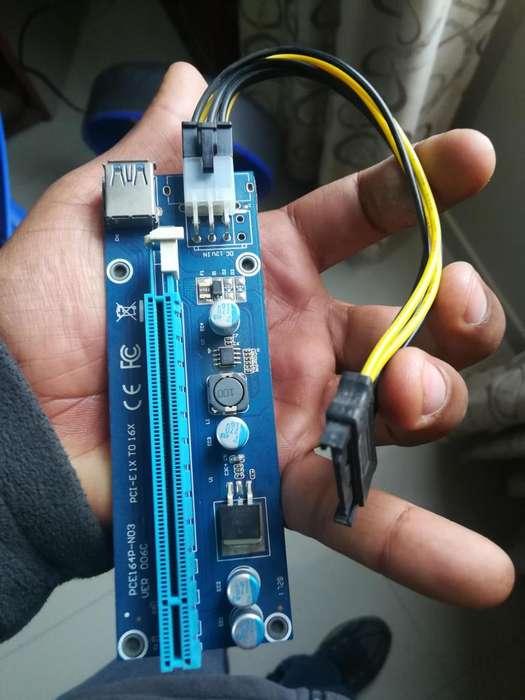 ADAPTADOR PCIEXPRESX1 A PCIEX16