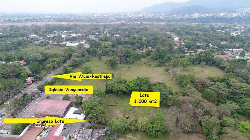Vendo lote barato en Villavicencio para casa campestre. vereda Vanguardia, salida hacia Restrepo