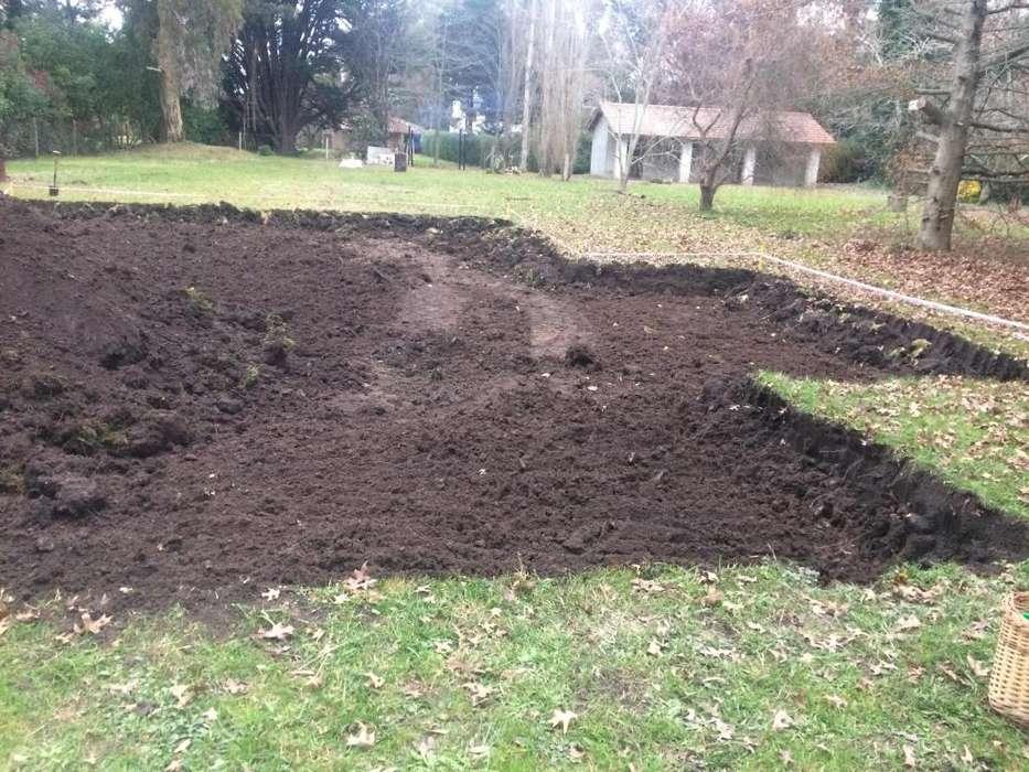 movimientos de suelo, plateas, zanjeos, excavaciones