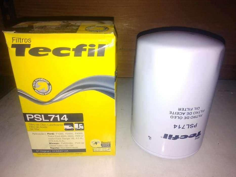 Filtro De Aceite Tecfil Psl714 mann W940 P/ranger Hilux