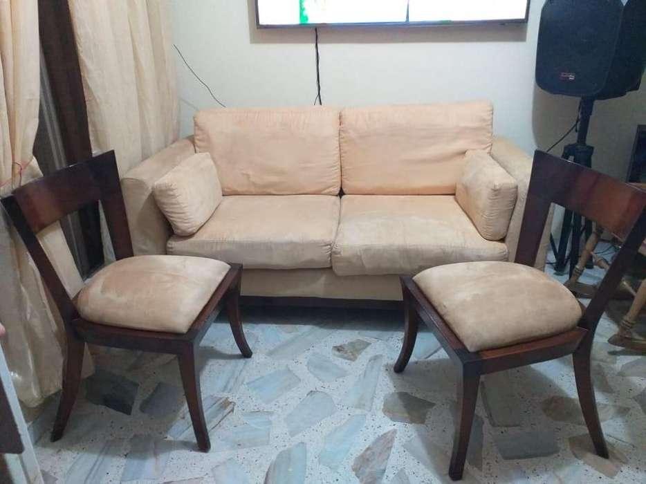 Vendo Hermoso Sofa Y Dos <strong>silla</strong>s