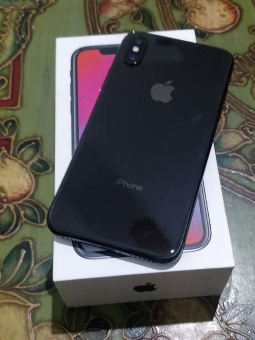 iPhone X 64 Gb Negro