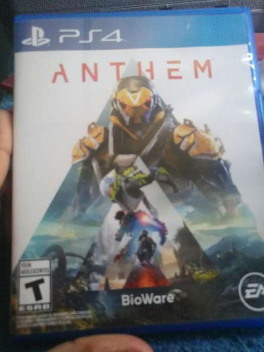 Vendo Anthem Ps4