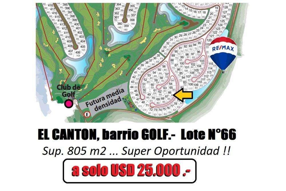 EL CANTON Barrio Golf Lote N 66, Escobar