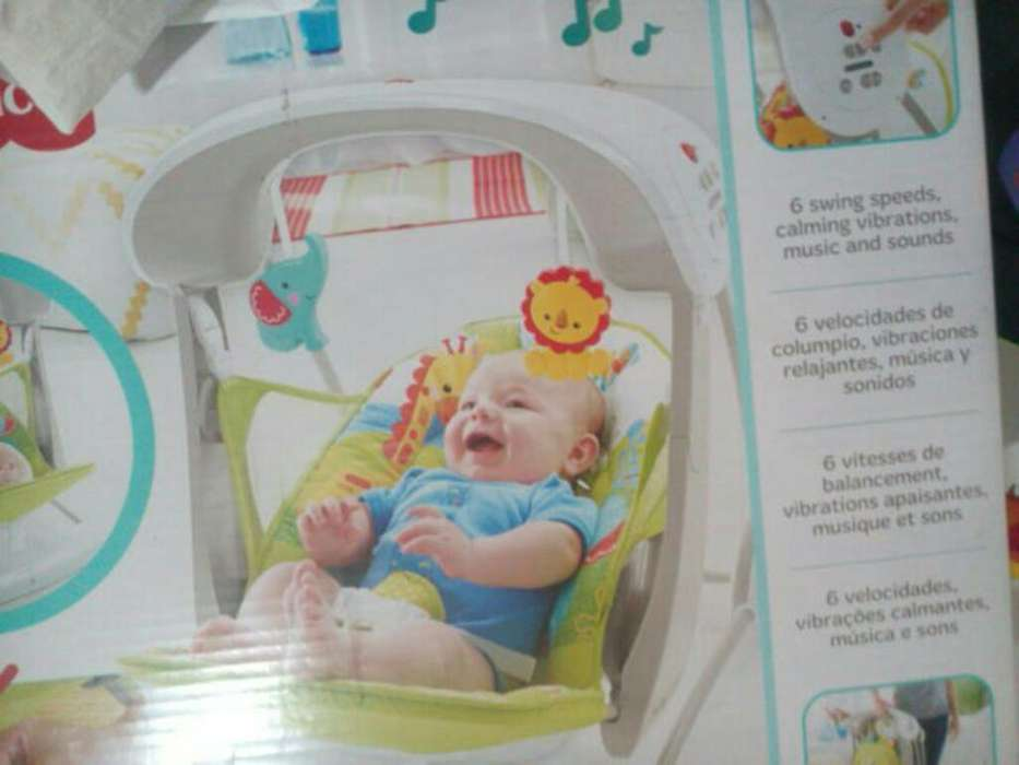 <strong>silla</strong> Mecedora Bebe Fisher Price
