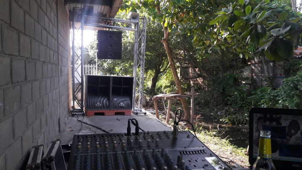 Alquiler de Sonido Linea Array