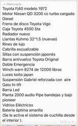 Vendo Toyota Fj40