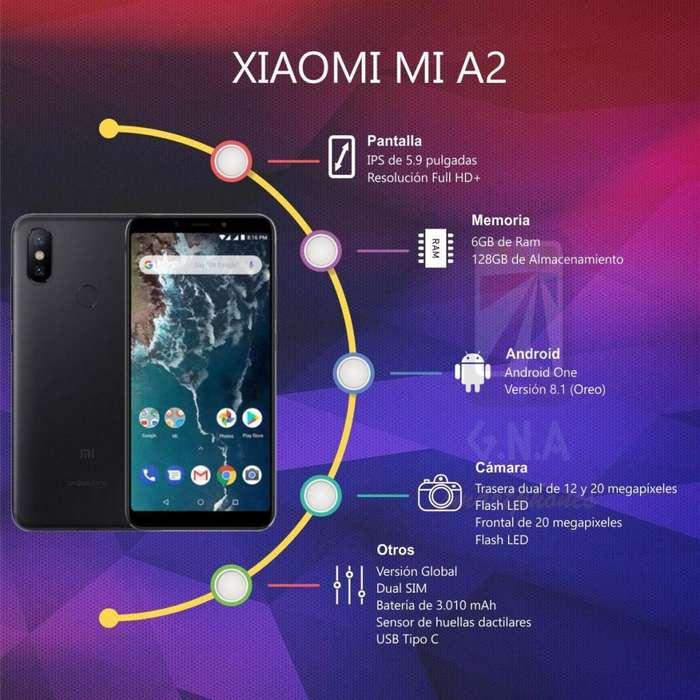 Xiaomi Mi A2 Versión GLOBAL, Doble Chip, 128GB, 6GB, NUEVO en TIENDA