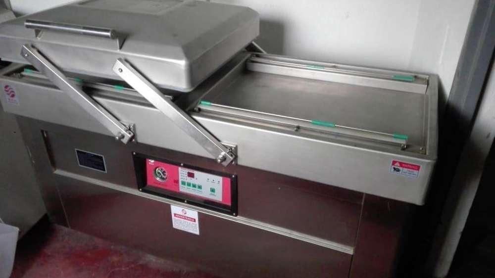 Empacadora al vació de 60 m3 y 60 cm cinta de sellado