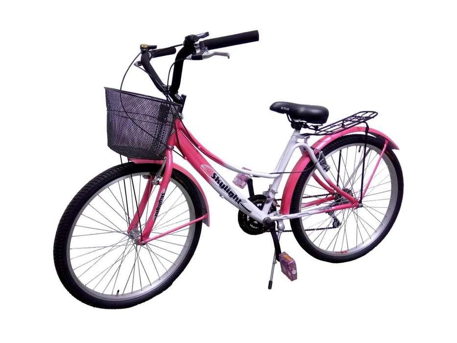 Bicicleta Drive Rin 26 Con Canasta