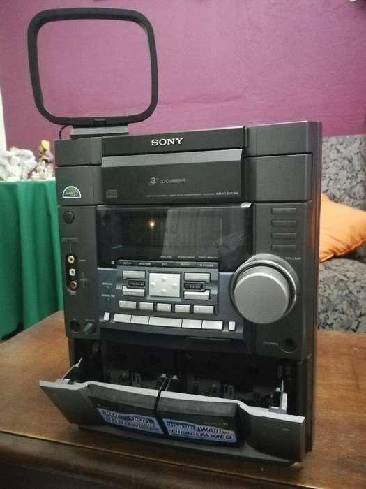 Equipo de Sonido Sony Mhcdx30