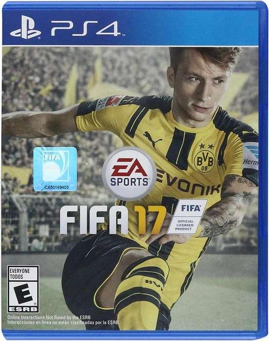 FIFA 17 PS4 Fisico Usado