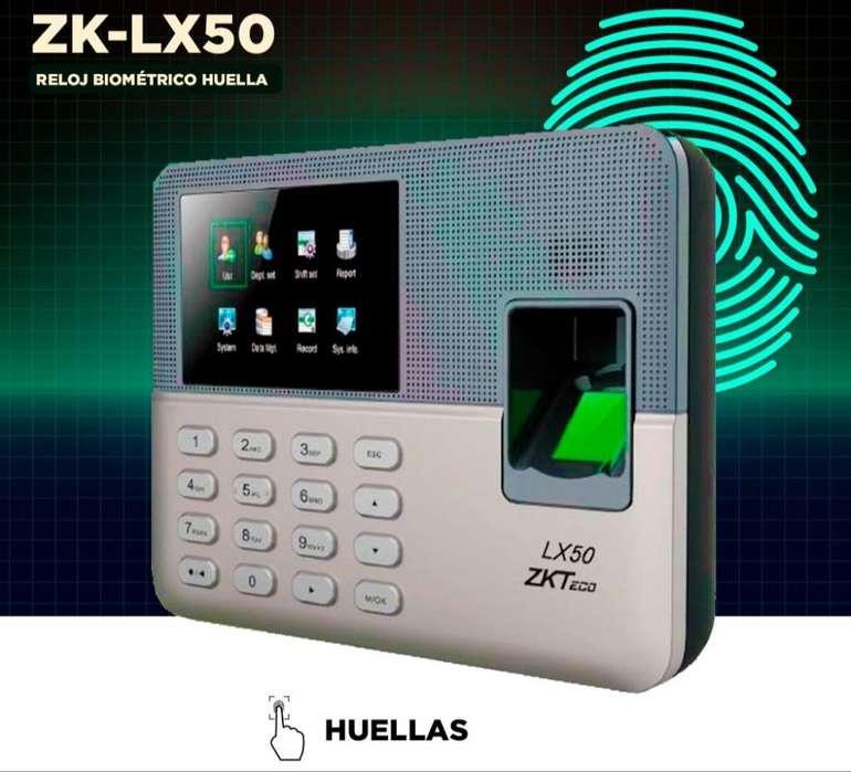 Control de Asistencia Biometrico Lx50