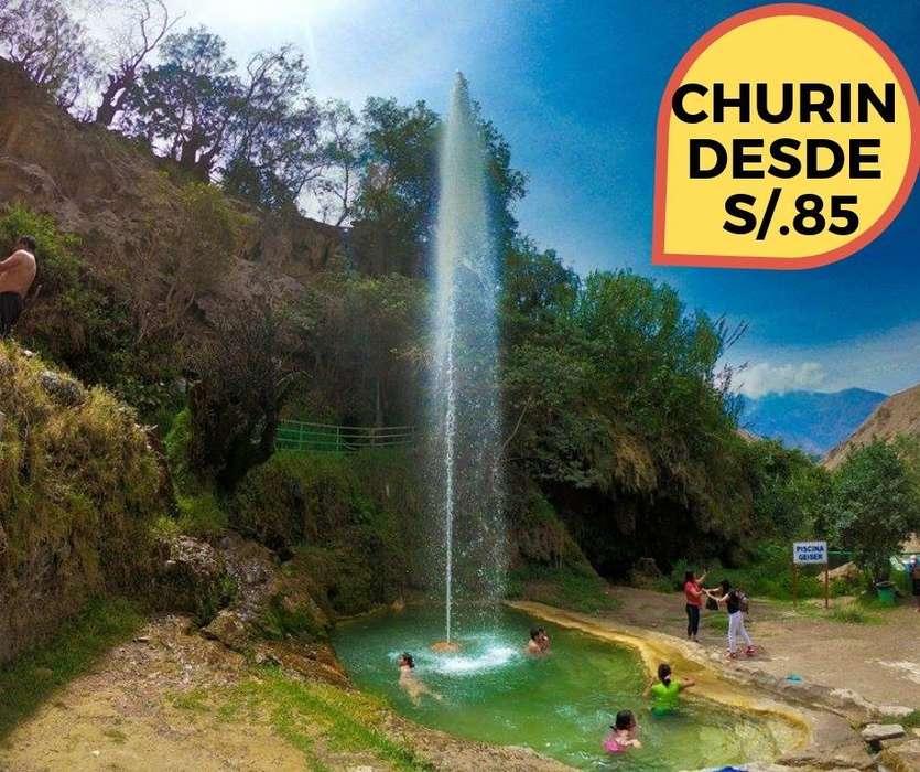 TURISMO FULL DAY CHURIN. DIA DOMINGO