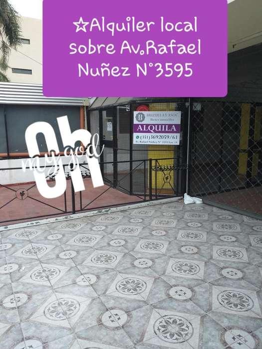 Local en Alquiler Av. Rafaél Núñez 3595