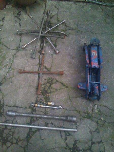 criket 2 toneladas y 2 llaves cruz y acoples