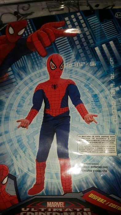 Disfraz Spiderman Talla 8