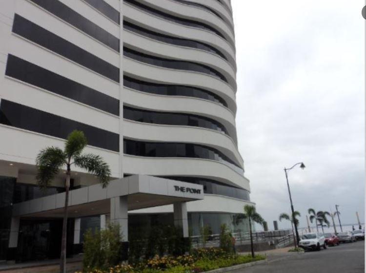 venta de oficina 48m2  edificio THE POINT puerto santa ana, guayaquil