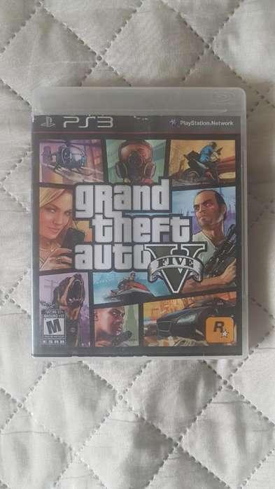 Gta V Grand Theft Auto 5 Ps3 Play 3 Oferta
