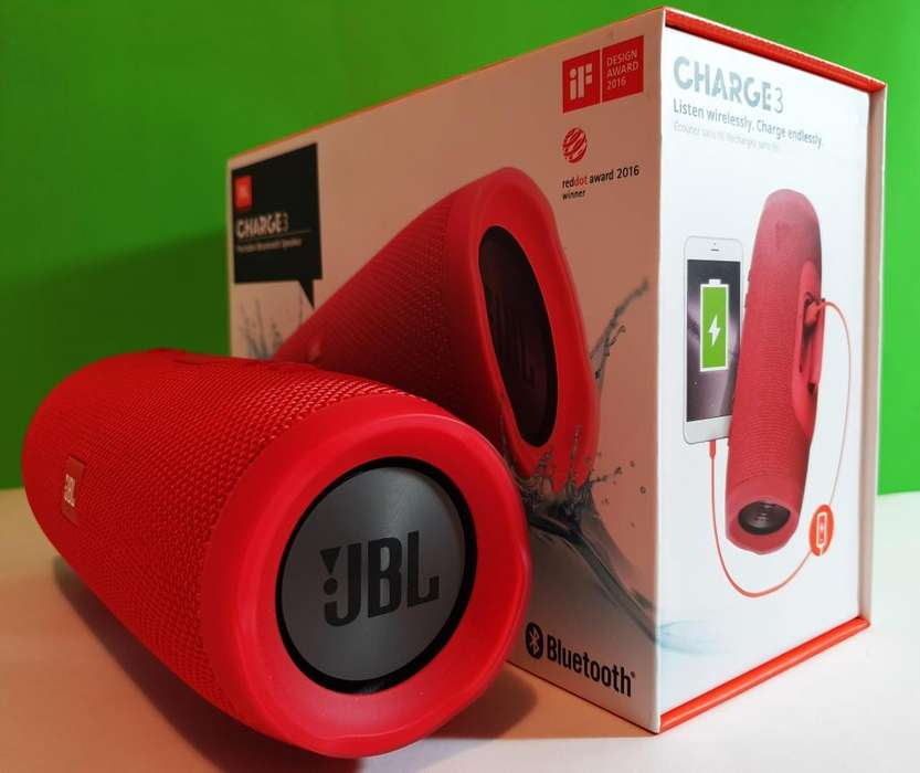 Parlante Bluetooth JBL Charge 3 Original Nuevo