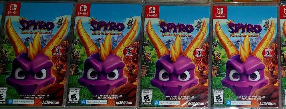 Spyro Trilogy Switch - Nuevos Y Sellados
