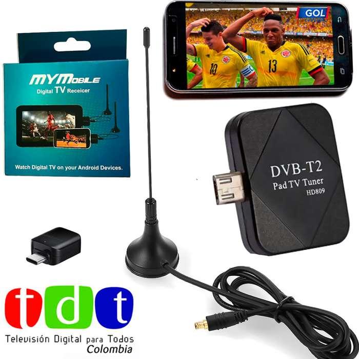 TDT Android 2019 Tablet/Celulares Antena Digital Envios Nacionales Contraentrega