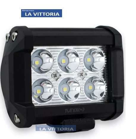 Barra Neblinera led de 18w de metal