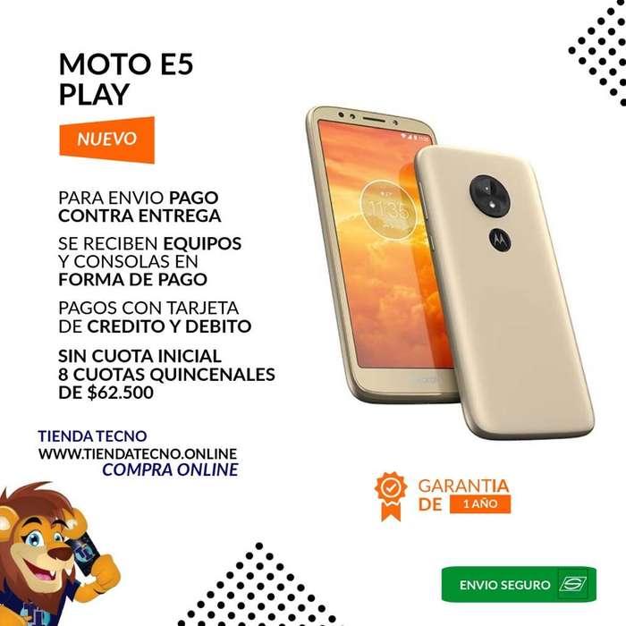 Motorola Moto E5 Play sin Cuota Inicial