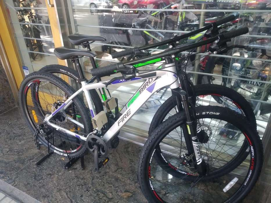 Bicicleta 29 Aluminio Discos 21v Shimano