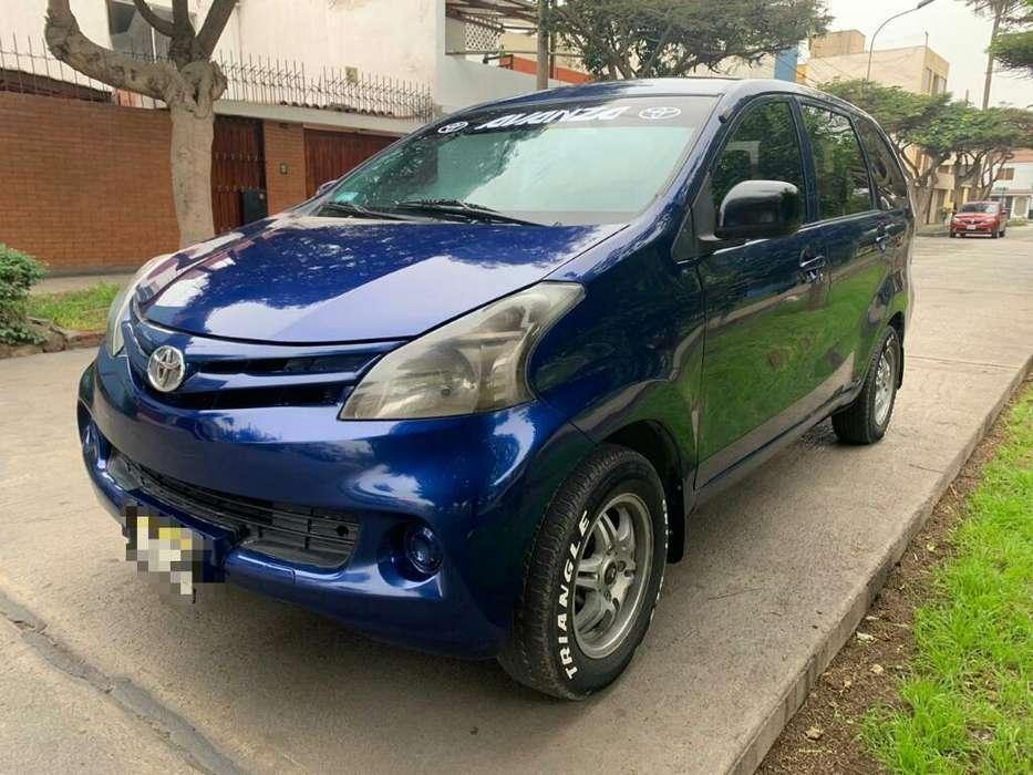 Toyota Avanza 2013 - 91000 km