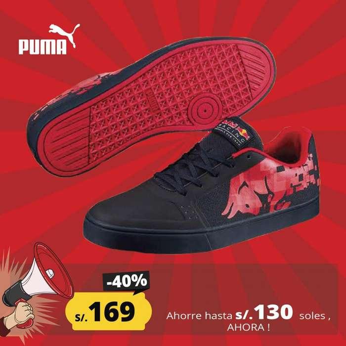 ZAPATILLA PUMA RED BULL RACING - NUEVA Y EN CAJA