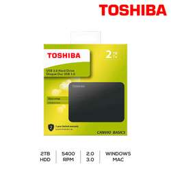 Disco Externo 2 Tb Toshiba 3.0 Canvio Basic