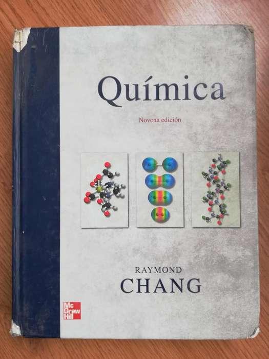 Química Raymond Chang Novena Edición McGrawHill PASTA DURA