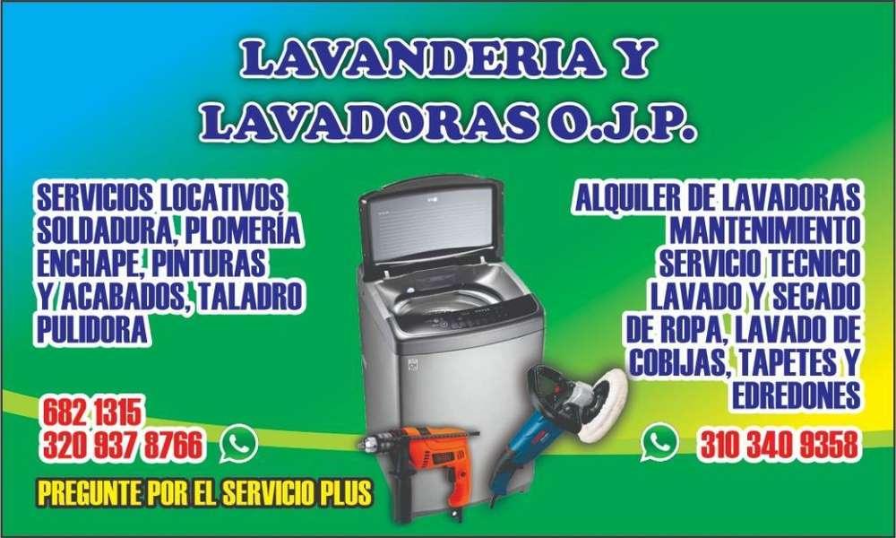 Lavandería Y Lavadoras O. J. P