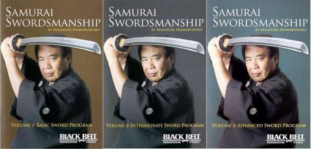 DVD INSTRUCTIVO DE BATTO KENJUTSU TAMESHIGIRI EISHIN RYU ESPADA SAMURAI KATANA SENSEI MASAYUKI SHIMABUKURO 10 DISCOS