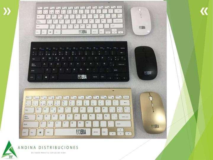 Teclado Mouse Anera 2.4 GHZ Wireless