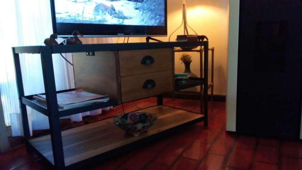 OFERTA Mesa para Tele Muebles rústicos de diseño (articulo Nuevo)