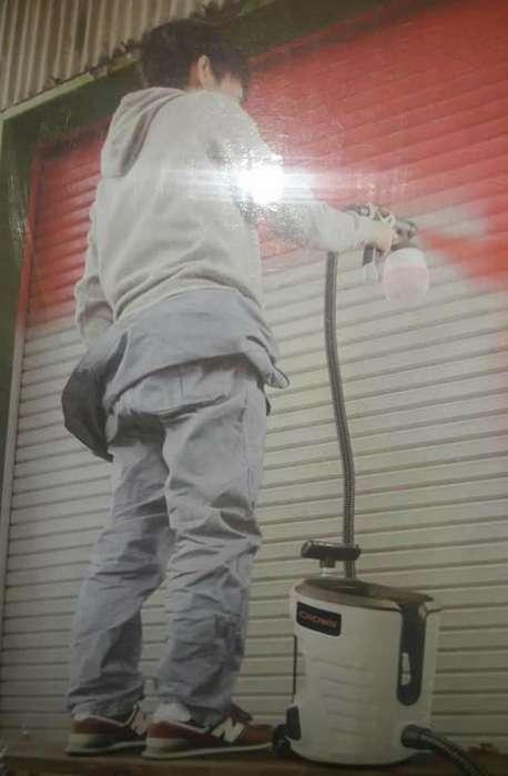 Maquina Para Pintar Con Ruedas Transportable 700 Watts De Potencia pinta de todo