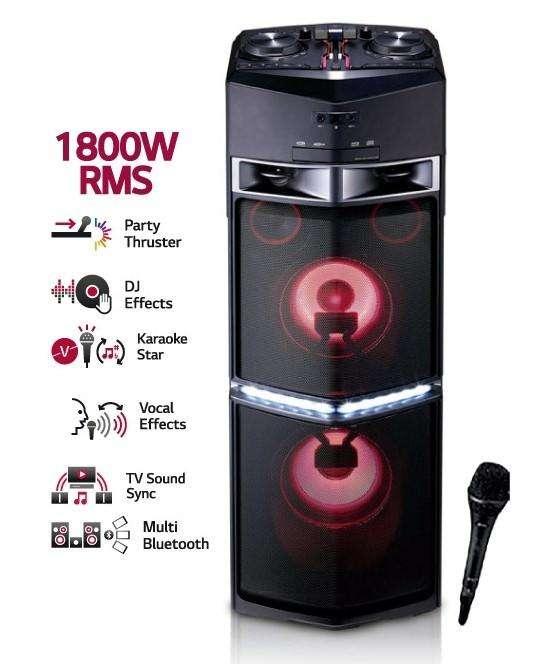 Equipo de Sonido Lg X Boom Oj98 1800w Rm