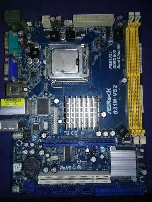 VENDO PLACA ASROCK INTEL G31M 775 DDR2