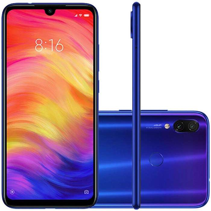 Vendo celular Xiaomi redmi note 7 nuevo con garanta