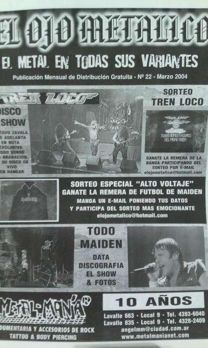 Fanzine El ojo Metalico nro.22