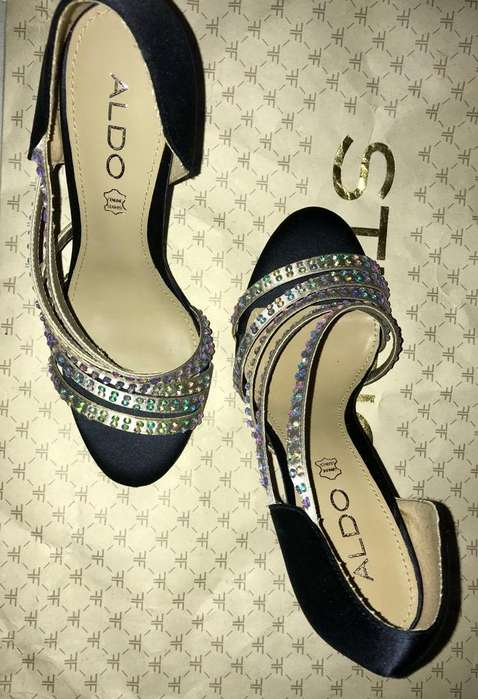 Zapatos Marca Aldo Taco Alto 7 1/2
