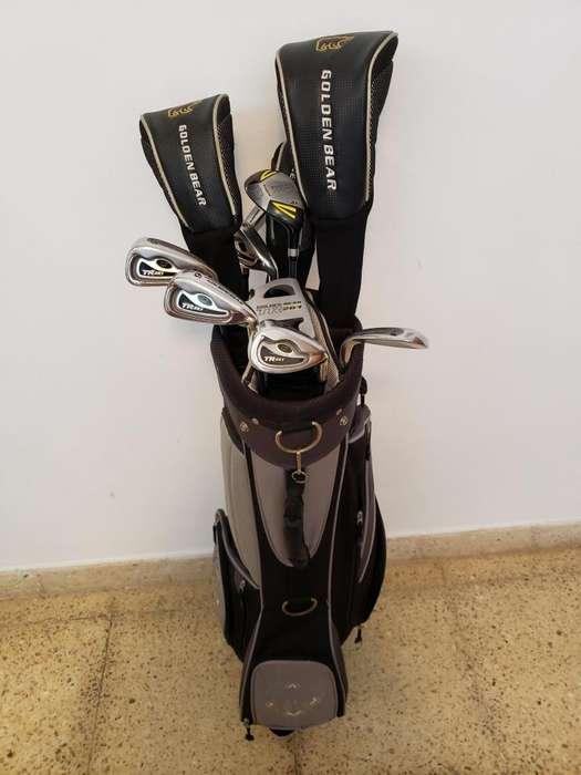 Juego de palos de golf Golden Bear TR 261,con bolsa.