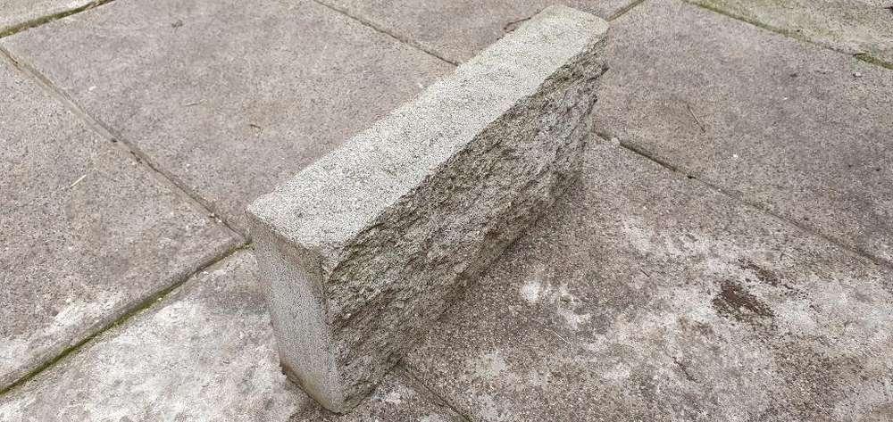 lote de 30 Ladrillos Gris Texturado simil Piedra Villa Adelina