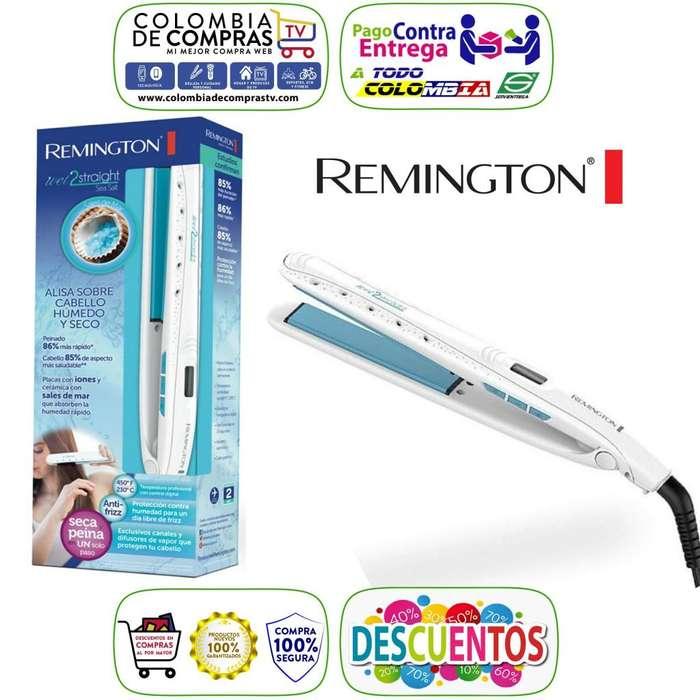 Plancha Cabello Remington Alisa Sobre Mojado Sales de Mar, Digital, Originales, Nuevas, Garantizadas