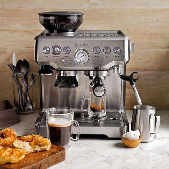 capuchinera espresso breville bes 870 xl nueva! entrega inmediata!