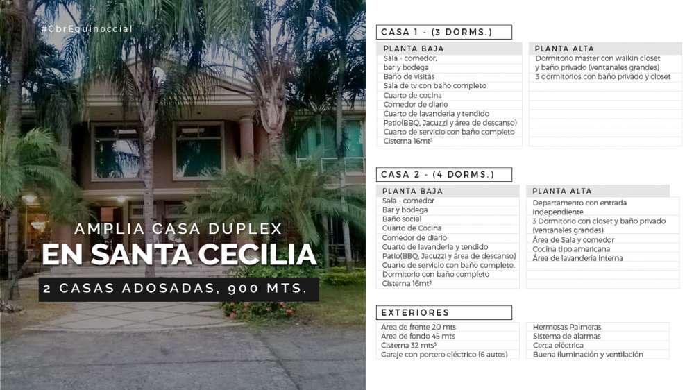 Venta de Casa Duplex en Santa Cecilia, Cerca del McDonald's, Ceibos, Norte de Guayaquil