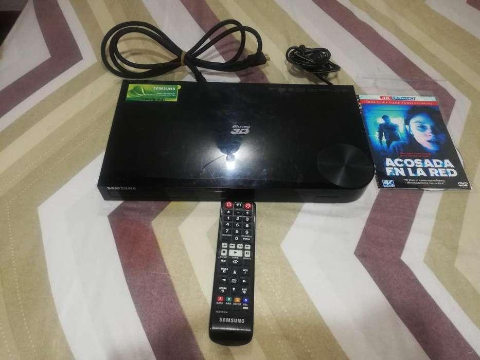 Blu Ray Samsung con Control Y Wifi